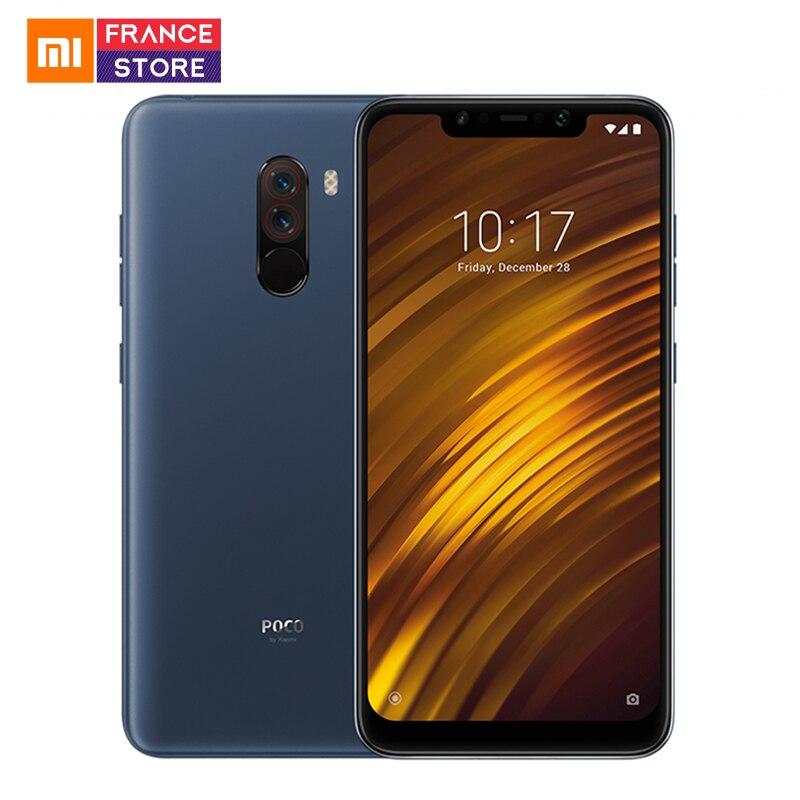 Version internationale Xiaomi POCOPHONE F1 POCO F1 POCO F1 6GB 128GB Smartphone Snapdragon 845 Octa Core 6.18 pouces plein écran liquide 4000 mAh