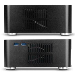 Image 5 - [[Nắp Trên Có Lỗ]] Mới L80S Máy Tính Trường Hợp Ốp Nhôm Để Bàn Máy Tính Lớn Dành Cho Game Khung Xe DIY MINI ITX ốp Lưng