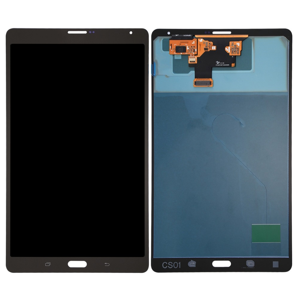 все цены на New for LCD Screen and Digitizer Full Assembly for Galaxy Tab S 8.4 LTE / T705 Repair, replacement, accessories онлайн