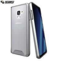 TOIKO Chiron Cas Clair pour Samsung Galaxy A8 A530 SM-A530F 2018 Transparent Antichoc PC TPU Couverture de Téléphone portable