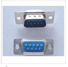Сварочная головка мужской db9 RS232 последовательный RS232 9-контактный последовательный порт разъем провода глава сварочная головка