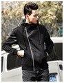 2016 New Arrival Fleece Plus Size Hip Hop Streetwear Longline Side Zipper Hoodies Sweatshirts Men Free Shipping