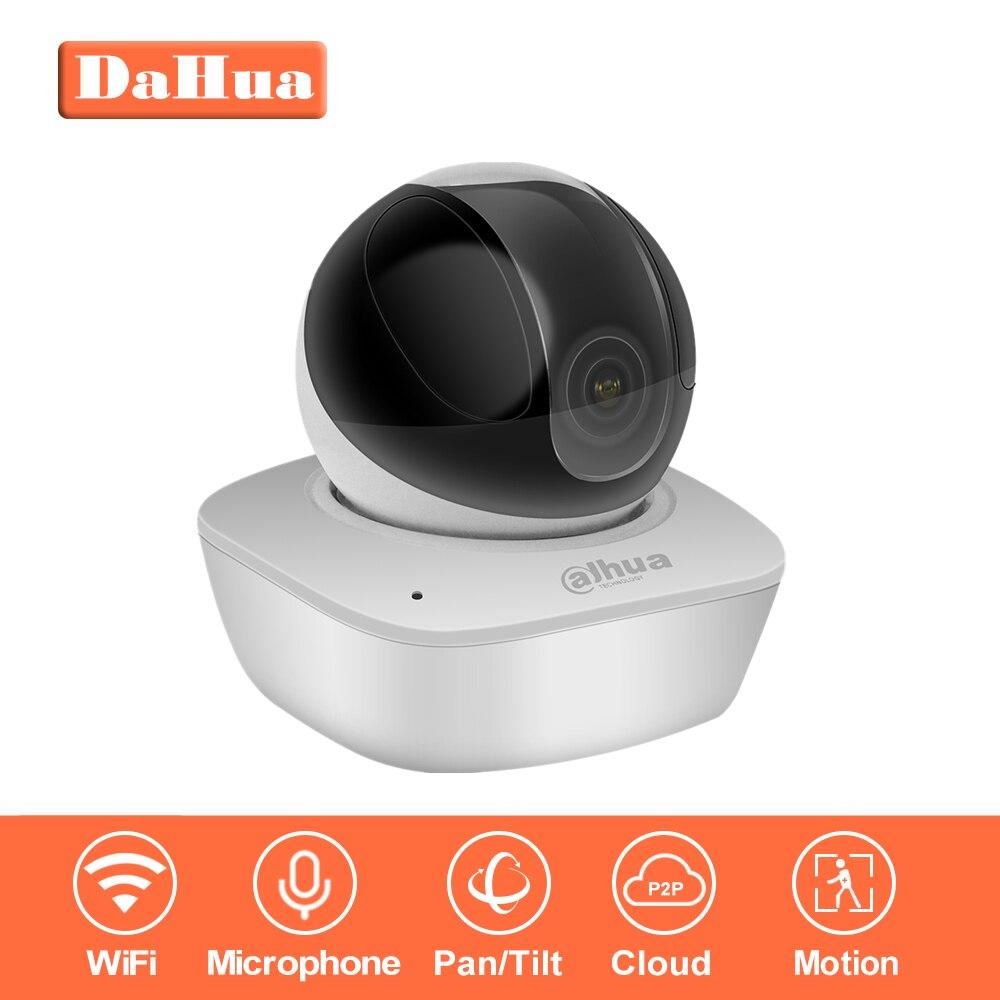 IP Камера indoor Оригинал Dahua Wi-Fi Камера IPC-A35 3MP Беспроводной IP Камера 16x сети Wi-Fi PT Камера Встроенный динамик и sd