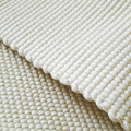 Cotton White Hand knitting Tatami carpet Folding soft carpet machine washable