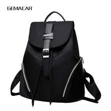 New Popular Ladies Small Backpack Classic Design Fashion Simple Female Bag Shopping Out Leisure Student