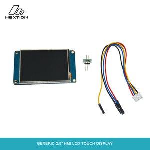 Image 4 - Nextion NX3224T028   2.8 HMI ذكي شاشة تعمل باللمس TFT وحدة LCD 4 أسلاك لوحة مقاوم اللمس لمطور اردوينو