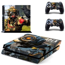 Game APEX Legends PS4 Skin Sticker Decal For PlayStation 4 for Dualshock 4 Console and 2 Controllers PS4 Skins Sticker Decal