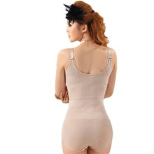 Women Floral Body Bodysuits Body Shaper Slimming Underwear Plus Size Waist Corsets Crotch Buckle High-elastic Shapewear