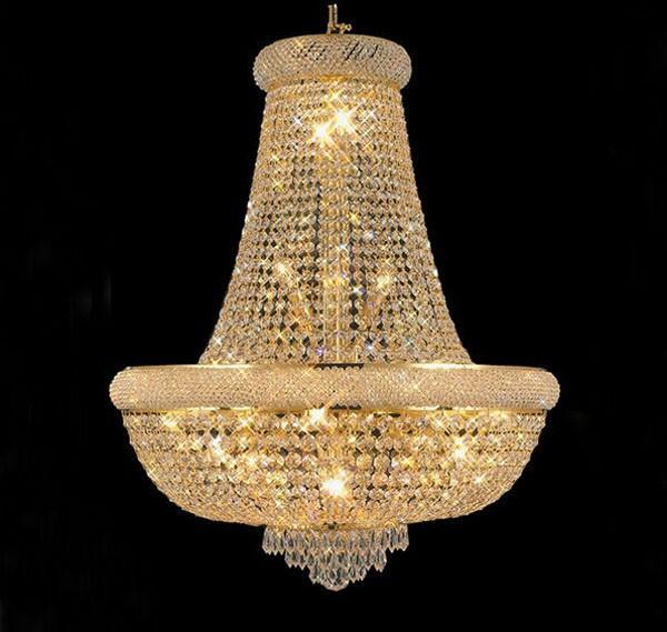 Gold Crystal Chandelier <font><b>light</b></font> Fixture Modern Chrome Crystal Chandeliers Living Room Chandeliers Guaranteed 100%+Free Shipping!