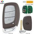 KEYECU OEM Echtes Smart Remote-Auto Schlüssel Mit 3 Taste 433MHz PCF7952 Chip-FOB für Hyundai IX25 2013 2014 2015 P/N: 95440-C9000