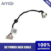 AIYIGI zasilania DC kabel typu jack dla DELL 3458 5455 5555 5558 5000 5458 100% marka nowy kabel do ładowania DC30100VV00 AAL20 0KD4T9