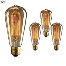 IWHD Ampul Retro Lamp Vintage Light Bulb Edison Bulb E27 40W 220V Industrial Decoration Edison Bulb Ampoule Bombillas Gloeilamp цена 2017