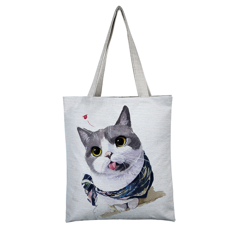 Cute Kitten Shopping Bag