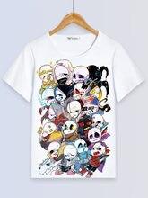 T-Shirt à manches courtes pour hommes et femmes, Sans Cosplay