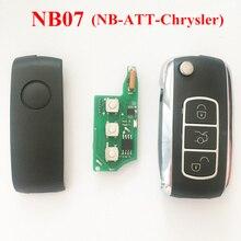 NB07 3 Кнопки Дистанционного Ключа С NB-ATT-Модель Для Chrysler Dodge Jeep Chrysler Ключи от машины, может Работать С URG200/KD900/KD200 Машины