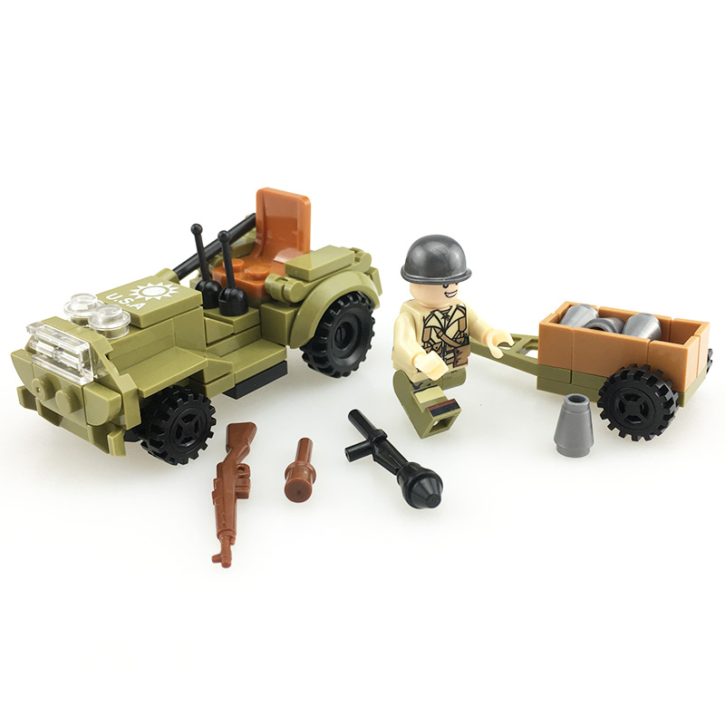 Tracked Soldiers motorcycle Military 4