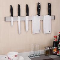 Magnetic Knife Holder Wall Mount Black ABS Placstic Block Storage Holder Chef Rack Strip Utensil Kitchen For metal Knife