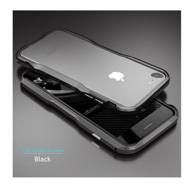 IPhone 7 6s Luphie բարակ մետաղական հեռախոսի - Բջջային հեռախոսի պարագաներ և պահեստամասեր - Լուսանկար 2