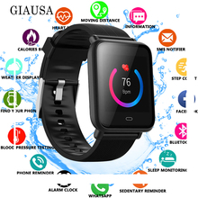New Q9 Smartwatch IPX67 Waterproof Sports For Android IOS With Heart Rate Monitor Blood Pressure Functions Smart Watch gagafeel q9 smartwatch waterproof for android ios heart rate monitor blood pressure smart watch with additional strap