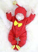 Super cute Christmas present 55cm Bebe Reborn Dolls soft alive Silicone Rebron Babies Girl boy Toys Newborn Bonecas brinquedos