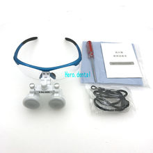 3.5x420mm Dental Loupes Surgical Binocular Loupe dental Magnifier Glasses