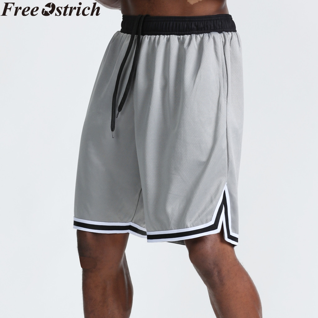 Loose Shorts Sweatpants Basketball Men Summer Plus-Size Workout Quick-Drying Breathable