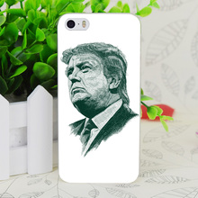 C3505 Donald John Trump Transparent Hard Thin Case Skin Cover For Apple IPhone 4 4S 4G 5 5G 5S SE 5C 6 6S Plus