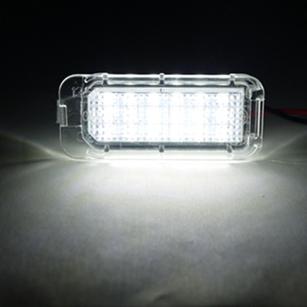 Free shipping 2PC LED License Plate Light For FORD FOCUS 5D 08-2013 FIESTA MONDEO MK3 MK4 MK6 2x 18 smd led license plate light module for ford focus da3 dyb fiesta ja8 mondeo mk4 c max s max kuga galaxy