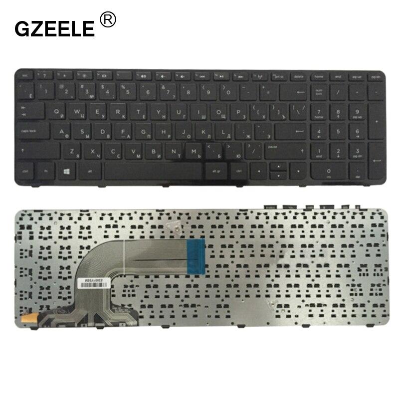 GZEELE Russian Keyboard For HP 15-r049sr 15-r050sr 15-r052sr 15-r053sr 15-r054sr 15-A 15-R 15-a003 15-a006 15-a007 15-f101 RU