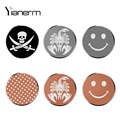 Yianerm 32*32 Cartoon Metal Plate Magnetic Car Phone Holder Accessory iron sheet Specially Used For Magnet Phone Stand
