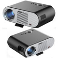GP90 Mais Recente Portátil HD 1080 P Home Cinema LED Projector Digital HDMI Video Game LCD 3D Proyector Beamer Lâmpada LED longa vida útil