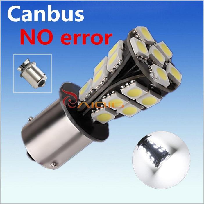 1156 21 SMD BAU15S led крушки за автомобили без - Автомобилни светлини - Снимка 3