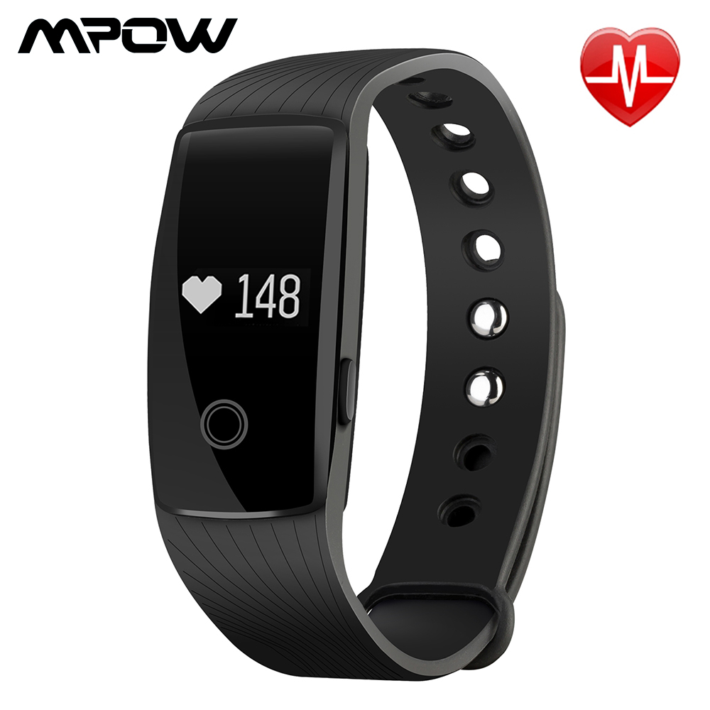 Hot Mpow Aw012 Smart Bracelet Assometer Fitness Tracker Heart Rate Monitor Olcd Screen Smart Band Sport With Gps For Android Ios A532