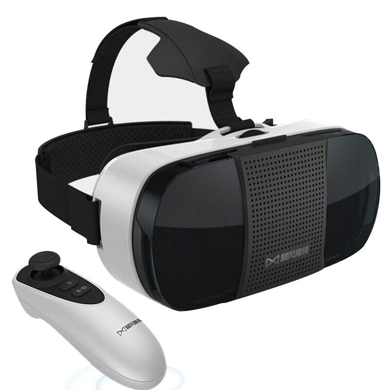 Baofeng Mojing III Plus 3D Edition VR Glasses Virtual Reality Helmet Google Cardboard Head Mount with Bluetooth Control