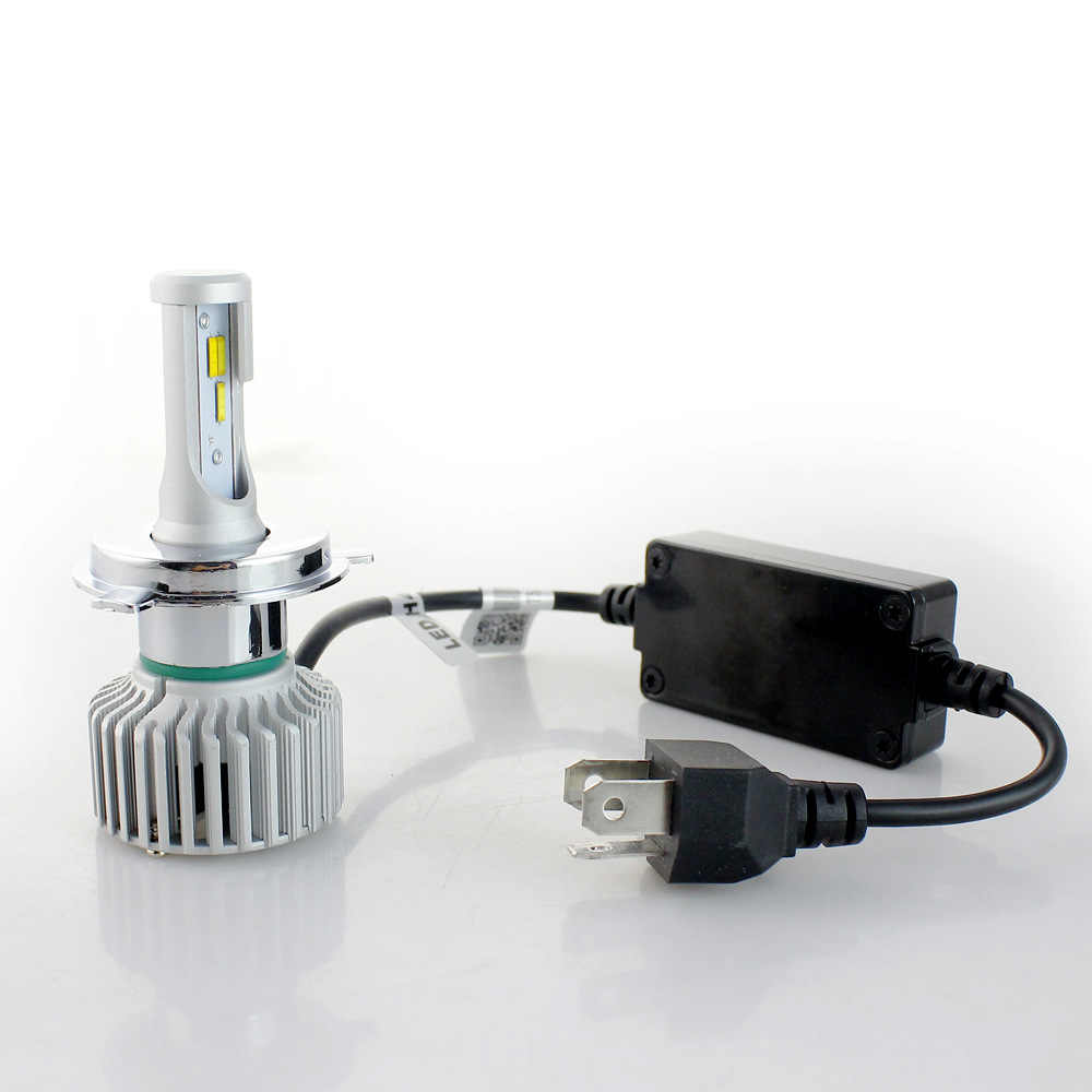 PAMPSEE T5 Tricolor Auto Headlights H1 H3 H4 H7 H8 H9 H11 9005 9006 3000K 4300K 6000K Car LED Headlight Auto Bulbs three color
