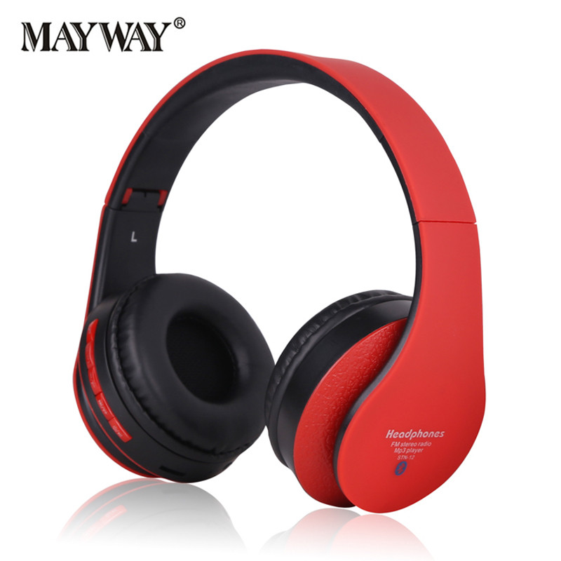 Wireless Bluetooth Headset Stereo Sports Noise Cancelling with Microphone Headphone Earphone Super Bass for iphone sumsung