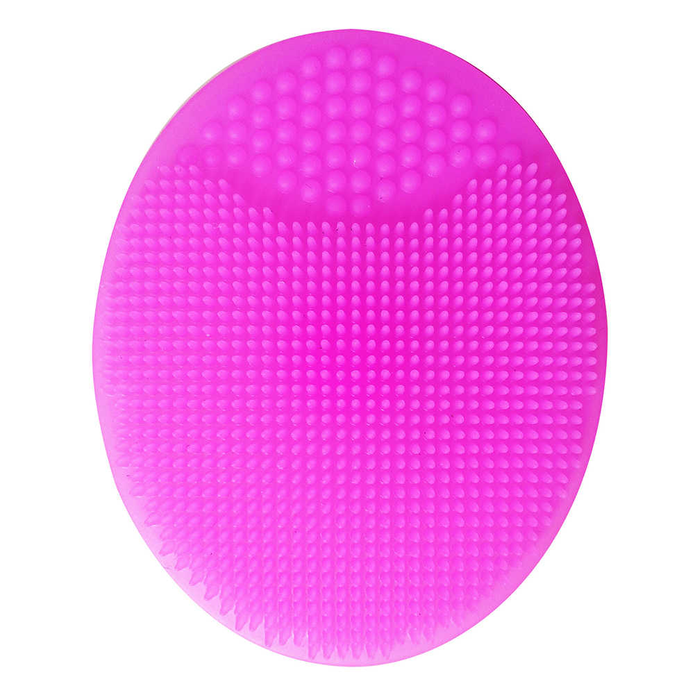 Bath Wash Brush Facial Cleansing Pad Hair Face Exfoliator Cleaning Scrubber