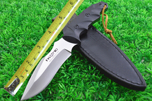 8cr13mov Steel Survival Hunting Knives Full Tang Fixed Blade Knife Antiskid G10 Handle Knife Collection 198#