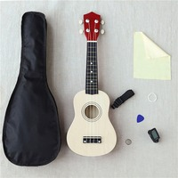 21 Inch Woodiness Uicker In Beginner Full Equipment Ukulele Small Guitar Wj jx1 School Educational Supplies Midi Bts Kpop