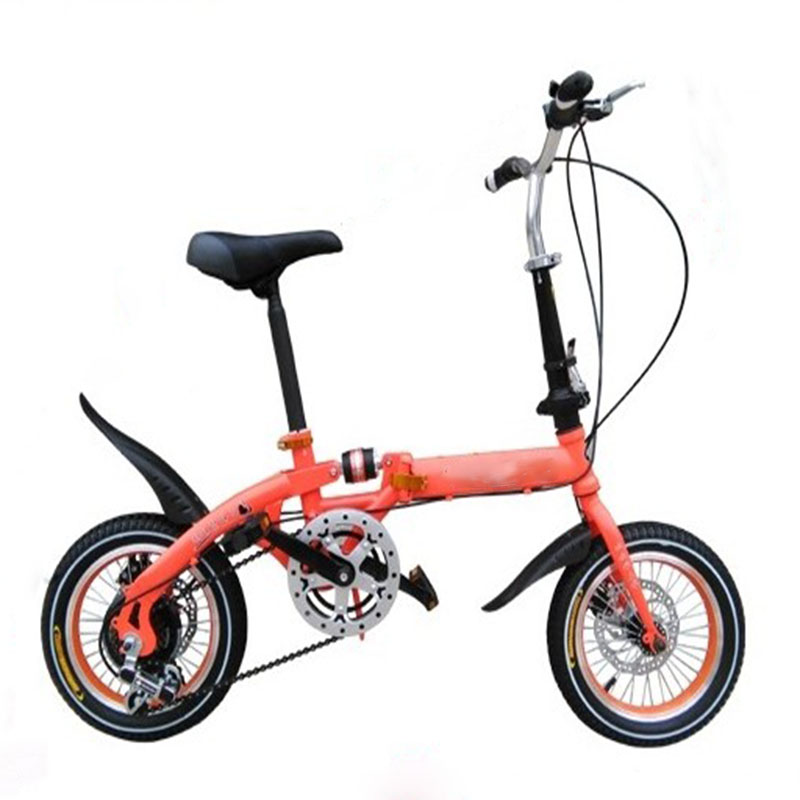 High Quality Steel Materials 12 Inch Child Folding Bike Stylish And Beauty Convenience