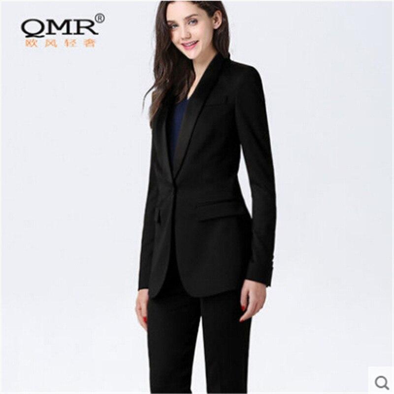 Femmes Costume Vestes Solide Black Marque Blazers Automne Féminine Printemps 3xl Vêtements S Blazer La Mode Formelle Taille Couleur Plus A2845 Xw6OZF
