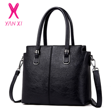 YANXI Fashion Luxury Women Bag Famous Brands PU Leather Tote Designer Handbag High Quality Women Messenger Bags Women's Handbags все цены