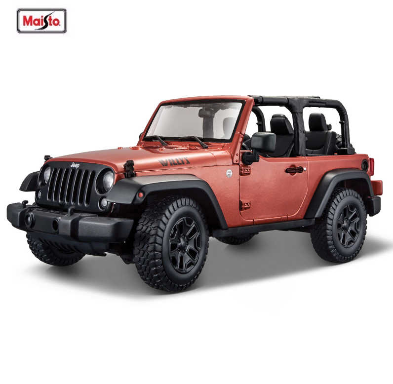 Maisto 1:18 JEEP WRANGLER RUBICON SUV Alloy Car Diecast Model Car Toy For Kid's Birthday Gift Original Box Free Shipping