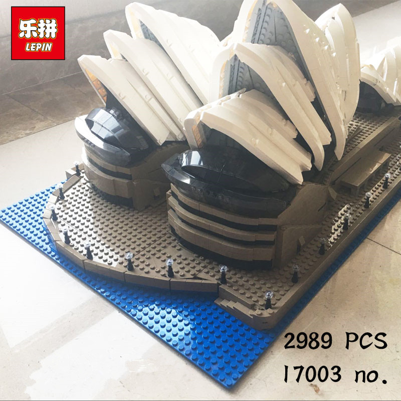 IN STOCK LEPIN 17003 2989pcs sydney opera house Model Building Blocks Set Architecture toys birthday gifts Free shipping free shipping 10pcs ad9850brs in stock