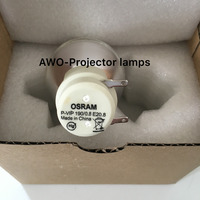 New Bare Bulb Lamp Osram P VIP 190/0.8 E20.8 For ACER BenQ Optoma VIEWSONIC Projectors
