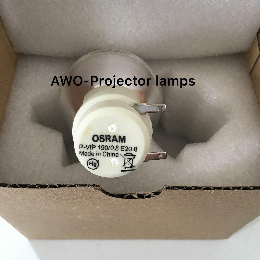 Nouveau nu ampoule lampe osram p-vip 190/0. 8 e20.8 pour acer benq optoma viewsonic projecteurs