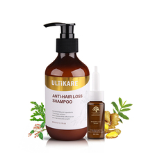 цена на Anti-Hair Loss Set Organic Ginger 300ml shampoo and 15ml Oil Hair Growth Product Natural Chinese Herb Formula Repair Damage Hair