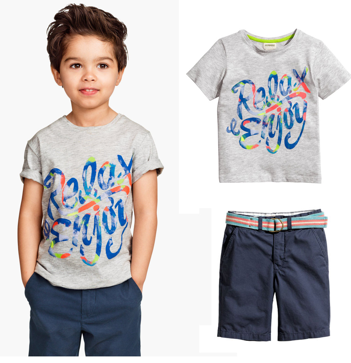 baby Boys Summer Clothing Sets Boy Brand Clothing Set Kid