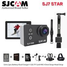 2017 SJCAM SJ7 Star WiFi 4K H.264 30FPS 2′ Touch Screen Action Helmet Sport Camera Waterproof Ambarella A12S75 Chipset camcorder