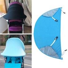 Bayi dandanan teduh bayi yang baru lahir Perlindungan dilipat payung kerusi payung pram kanopi payung payung kanak-kanak RayShade